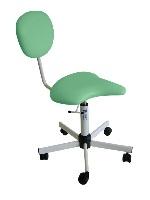 Kosmetická židle vykrojená
