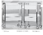 Nerezový stolek OPTOMA